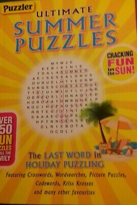 PUZZLER Ultimate Summer Puzzles Book 150+ puzzles rrp £5.99 130 pages New Book