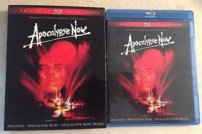 Apocalypse Now (Blu-ray, 2010, 2-Disc Set, Special Edition Redux) w/ Slipcover