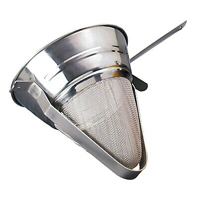 22cm Catering CHINOIS CONICAL MESH Colander Sieve Strainer Kitchen Drainer