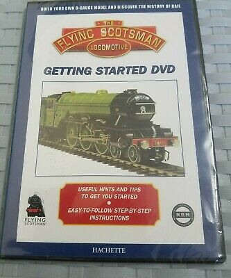 DVD The Flying Scotsman locomotive getting started build your  o-gauge model.