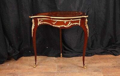 French Louis XV Jewellery Cabinet  Tear Table Bijouterie