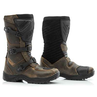 RST Raid CE Leather Boots Brown
