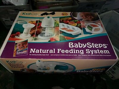Kidco BabySteps Natural Feeding System healty food processor containers/blender
