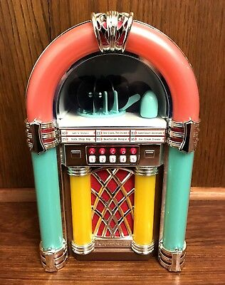 American Girl Maryellen's Jukebox Doll Accessory Lights Sounds Tested Works