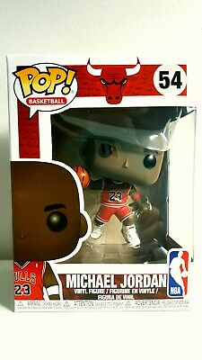 NBA Funko Pop Michael Jordan #54 Chicago Bulls Rookie- In Hand- NO Damage