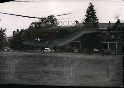 1954 Press Photo US Air Force Helicopter - spx03657