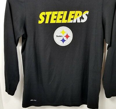 12c0a3e8b57 PITTSBURGH STEELERS JEROME Bettis Mitchell   Ness NFL Long Sleeve ...
