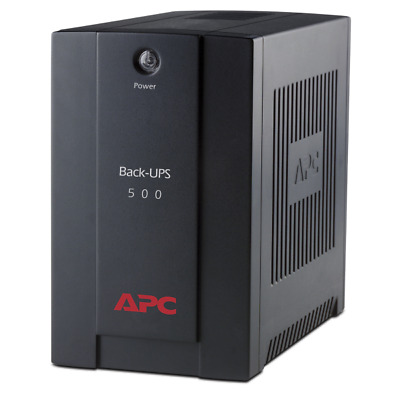 APC BX500CI Back-UPS uninterruptible power supply (UPS) 500 VA 3 AC outlet(s)