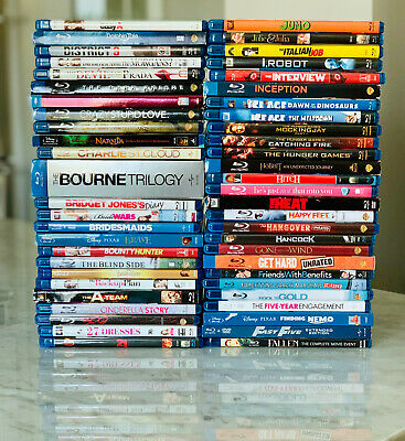 HUGE Lot of Blu-Ray DVDs - Popular Titles A-J - Take Your Pick! Most Items < $6