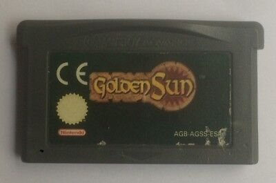 Golden Sun - Juego Gameboy Advance Game Boy - Nintendo Esp