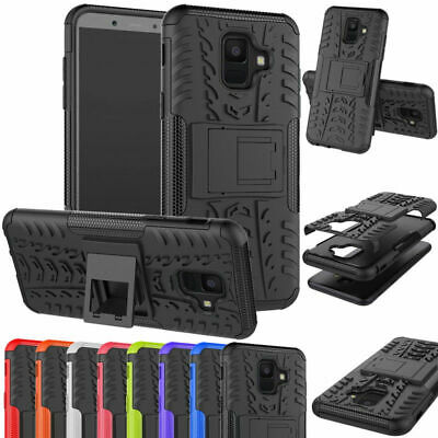 Shock Proof Hybrid Stand Hard Case Samsung Galaxy J3 J4 J5 J6+ J7J8 (2016/17/18)