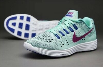 separation shoes 9e2f3 6699f Nike LunarTempo Running Shoes NEW Light Blueish Green Purple, MSRP  110  Women s