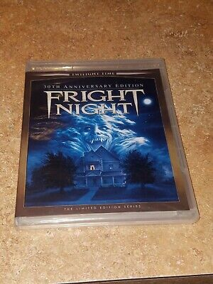 Fright Night (Blu-ray, Twilight Time, 30th Anniversary Limited Edition 1985) NEW