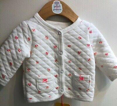 59fc084fe BABY GIRL SEEDS by CORKY   COMPANY fleece jacket   hat set 6 months ...