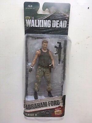 "Boxed Mcfarlane 5"" Amc The Walking Dead Series 6 Abraham Ford Action Figure"
