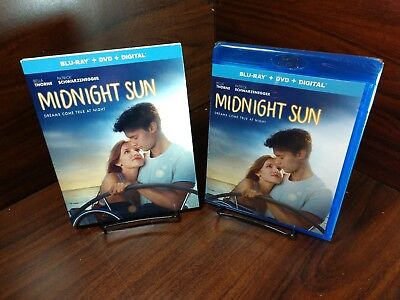 Midnight Sun (Blu-ray+DVD+HD Digital) Slipcover-NEW-Free Shipping with Tracking