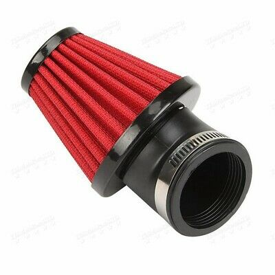 Universal Red 42mm Air Filter Pod 45 Angled/150cc-250cc For Motor  Scooter  YM