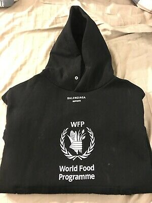 Balenciaga World Food Programme Hoodie Oversized Authentic With Tags 350 00 Picclick