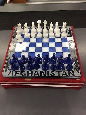 Afghanistan Marble Chess Board