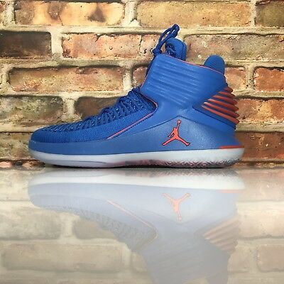 a6e224ad5cd2 Air Jordan XXXII 32 Mens 10.5 Why Not Russell Westbrook Blue Orange AA1253- 400
