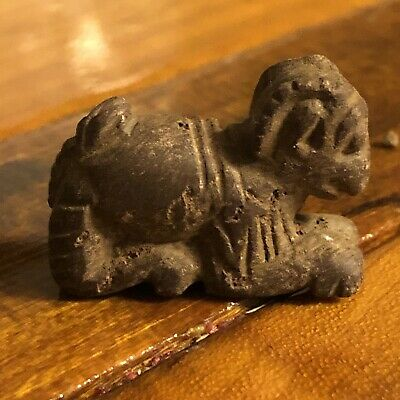 Bactrian Afghanistan Stone Idol Worship Clay Middle East Islamic Ancient Figure