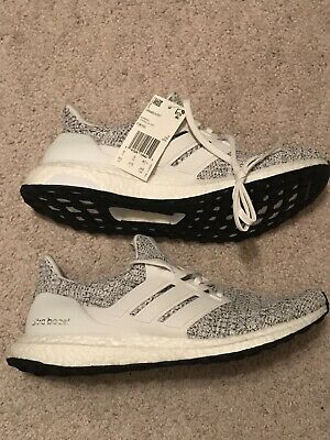 f7136da01a8c8 ADIDAS ULTRA BOOST 4.0 Sz 9.5 10 Cookies   Cream White Black Oreo ...