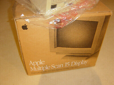 "Apple Multiple Scan 15"" CRT Display (MAC COLLECTORS ITEM) - (USED)"