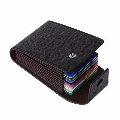 Fashion Business ID Credit Card Wallet Holder Name Cards Case Pocket Organizer