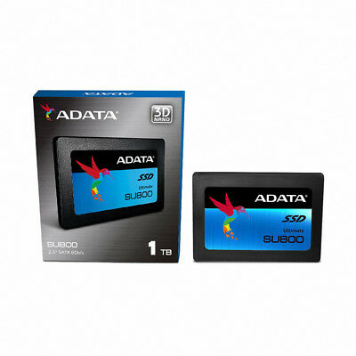 "ADATA Ultimate SU800 1TB 3D TLC SSD 2.5"" SATA3 Internal SOLID STATE DRIVE"