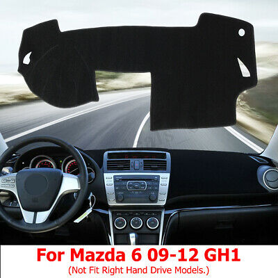 Black Dashmat for NISSAN Navara D40T ST 6//2008 on Dash Mat DM1095