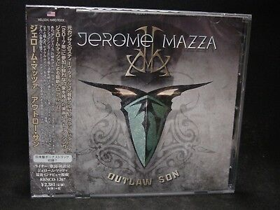 JEROME MAZZA Outlaw Son + 1 JAPAN CD Steve Walsh Angelica Pinnacle Point Melodic