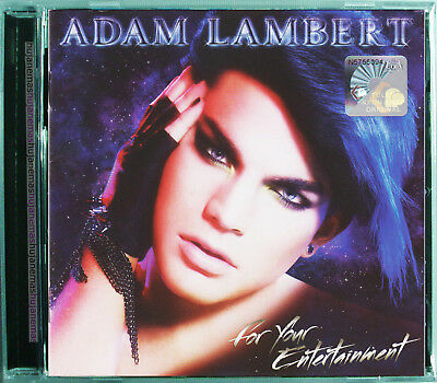 ADAM LAMBERT For Your Entertainment 2010 MALAYSIA DELUXE EDITION CD + DVD SET
