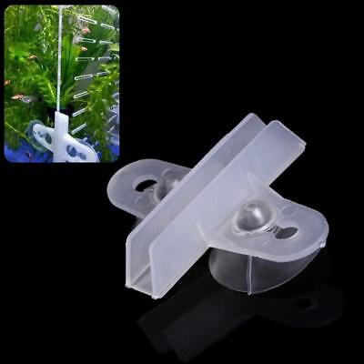 5pc Aquarium Fish Tank Divider Suction Cup Divider Plastic Holder Supplies