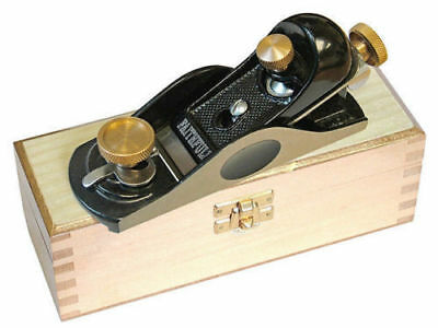 Faithfull FAIPLANE6012 No.60 1/2 low angle block plane in wooden storage box