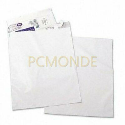 Jumbo Poly Mailers, Recycled, 19x24-in, White, 50/Pk (pp)