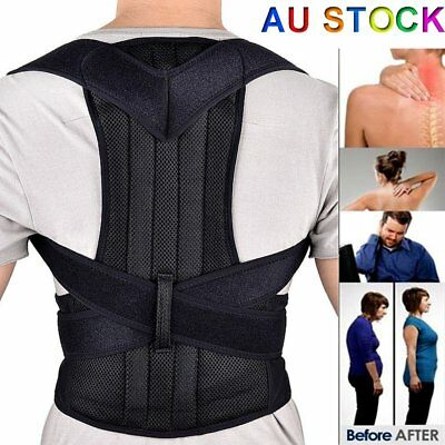 Posture Clavicle Support Corrector Back Straight Shoulders Brace Strap Correct N