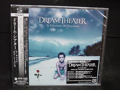 DREAM THEATER A Change Of Seasons JAPAN SHM CD Majesty The Winery Dogs Adrenalin