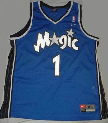 Rare VTG Nike NBA Orlando Magic Tracy Mcgrady 1 Swingman Jersey Mens XL Sewn f44a9bcda