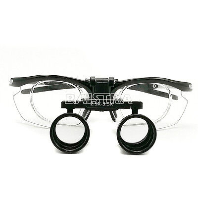 2.5X-3.5X Dental Surgical Medical Binocular Loupes Variable Magnification Loupes