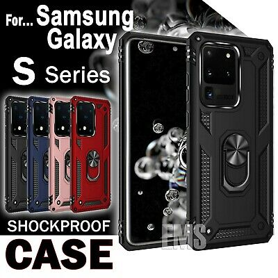 Galaxy S10 S10+ Plus Case Wallet Card Slot Heavy Duty Stand Cover For Samsung