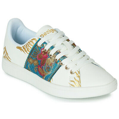 Sneakers   Scarpe donna Desigual  SHOES_COSMIC_EXOTIC TROPICAL Bianco  1125...