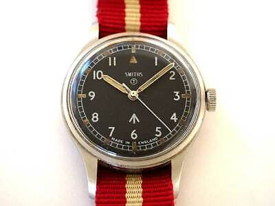 Smiths Royal Army British Military 1969 Vintage SS Hand winding Men's Watch