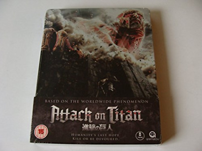 ATTACK ON TITAN - THE MOVIE 1 SBOOK (UK IMPORT) Blu-Ray NEW