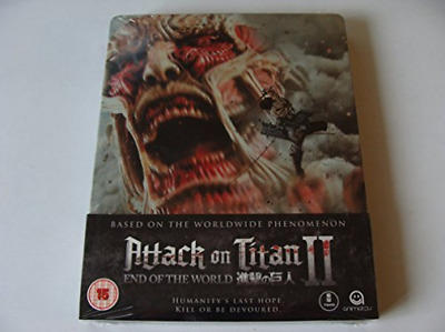 Attack On Titan - The Movie 2 Sb (Uk Import) Blu-Ray New