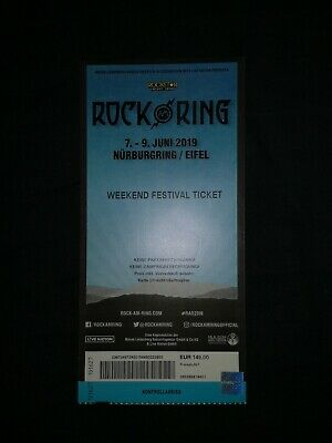 Rock Am Ring 2019 Weekend Festival Ticket Ohne Camping