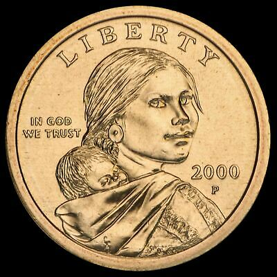 "2000-P Sacagawea ""Imperfect Uncirculated"" Dollar Coin (DISCOUNTED!)"