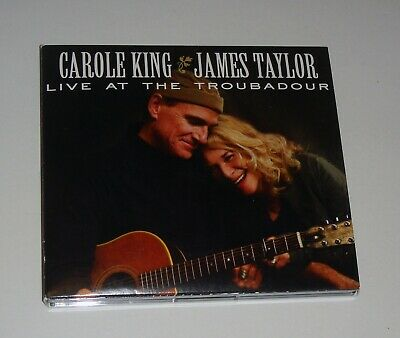 Carole King & James Taylor Live at The Trobadour CD & DVD 15 Songs FREE SHIP
