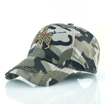 Men's Camouflage Baseball Caps Men Breathable Cotton Army Ranger Hat Tactical