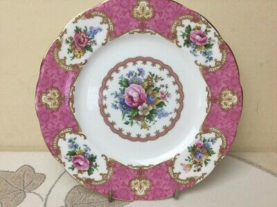 Royal Albert Lady Carlyle Salad / Dessert Plate 18cm Unused Mint Marked 2nds