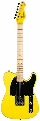 Revelation RVT L/H Vibrant Series Left-Handed Electric Guitar (Vibrant Yellow)
